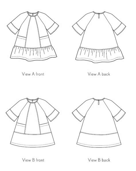 pattern review oliver s oliver s os049ca carousel dress