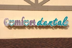 comfort dental monument outdoor signs seattle sign tech electric llc