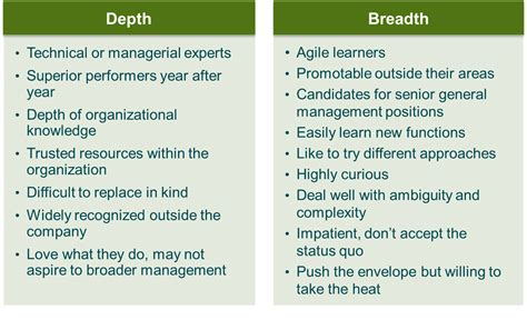 learning agility the key to leader potential books learning agility depth vs breadth leadership alliance