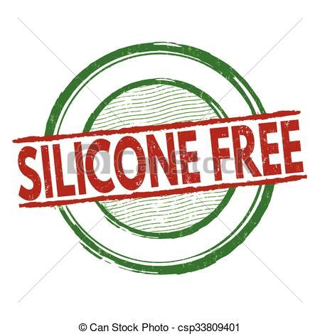 Silicon Freed silicone free st silicone free grunge rubber st on vector clipart search