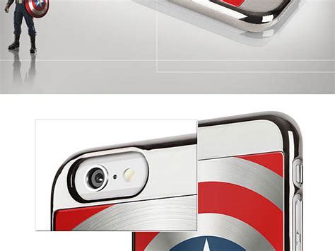 Casing Soft Captain America Marvel For Iphone 6 6s marvel captain america shield for iphone 6 6s