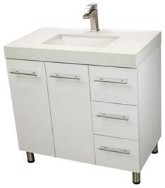 free standing bathroom sink windbay 48 quot free standing bathroom vanities sink white