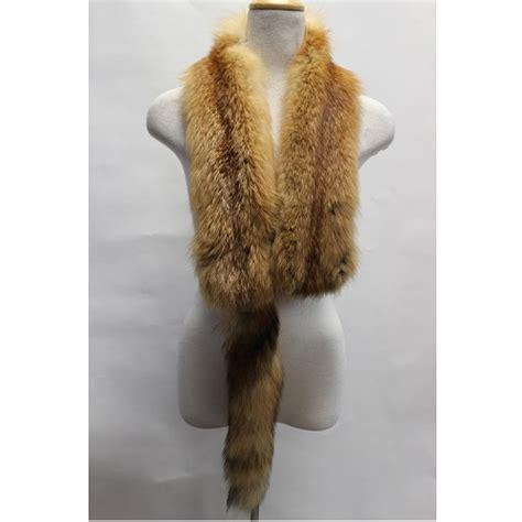fox fur scarf 2 charismafurs ca