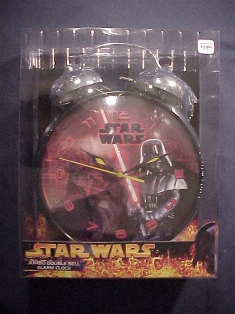 Wars L With Alarm Clock by Jumbo Bell Alarm Clock Darth Vader Wars
