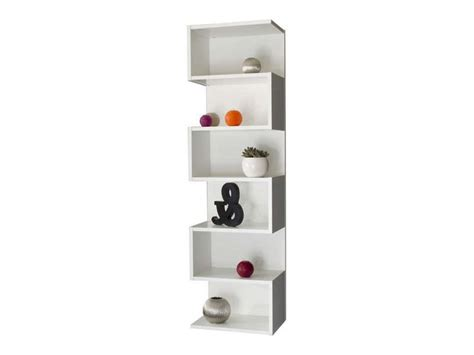 etag 232 re d 233 corative 6 cases coloris blanc vente de - Etagere 6 Cases