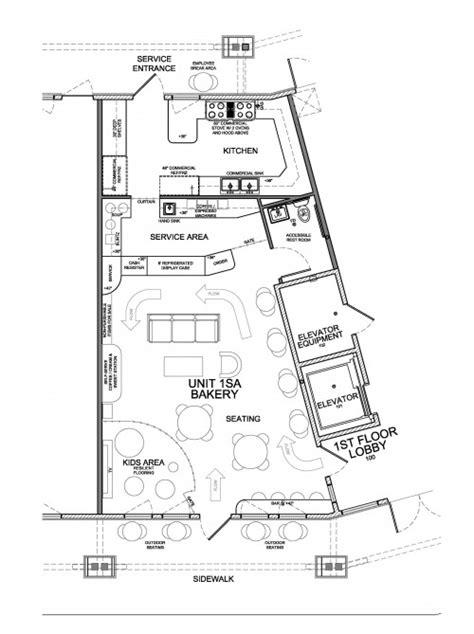 new layout for small denver bakery evstudio architect new floor plan for bakery evstudio architect engineer
