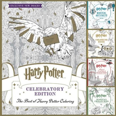 harry potter coloring book filled in 30 fantastic harry potter gift ideas startsateight