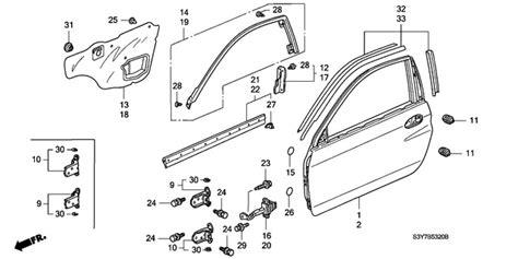 honda car and auto parts honda insight door panels