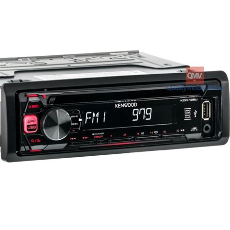 Mobil Kenwood Usb kenwood kdc 125u car stereo cd receiver with front usb
