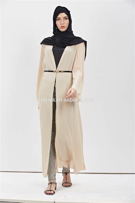 Jalabia Cardigan low price high quality muslim kaftan jubah dubai abaya with belt 2017 best selling sleeve