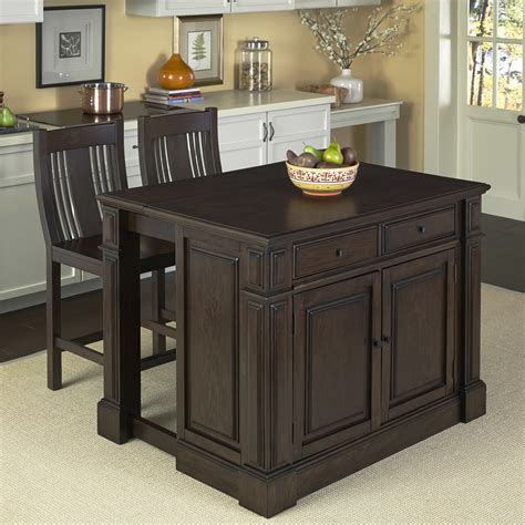 home styles prairie home 3 kitchen island set