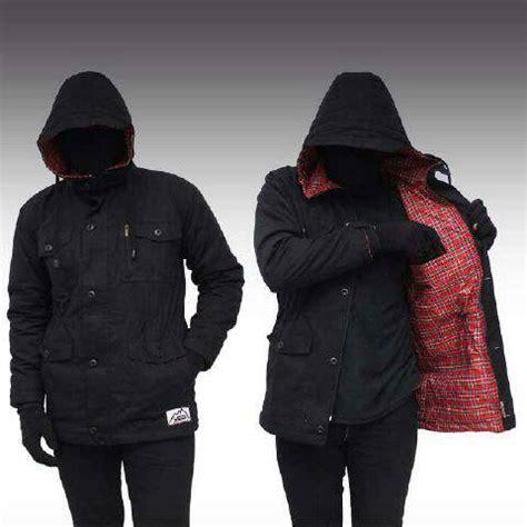 Jaket Parka Wanita Variant Warna 1 jual jaket parka hitam black jacket kantong polos kanvas