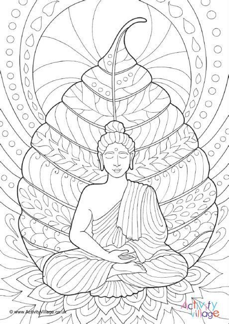 coloring pages for adults buddhist buddha colouring page 2 drawings pinterest buddha