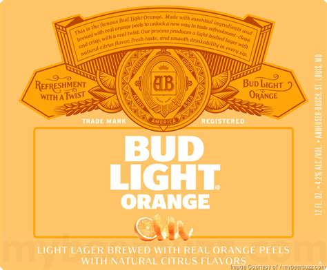 what is the abv of bud light anheuser busch adding bud light orange updating bud