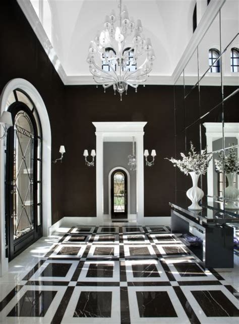 black white decorating