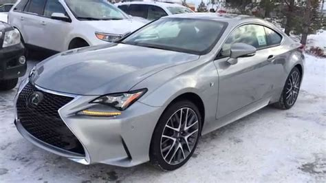 lexus rc f silver new atomic silver 2015 lexus rc 350 2dr cpe awd f sport