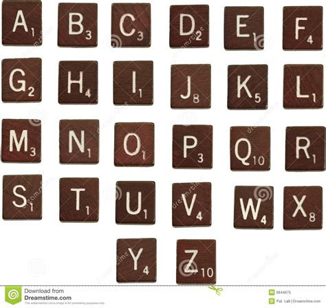 z in scrabble scrabble letters alphabet stock image image of isolated