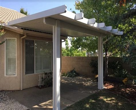 Wall Attached non isolated Patio Cover Installation