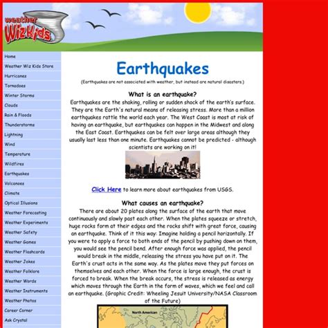 earthquake records earthquake information for kids room kid