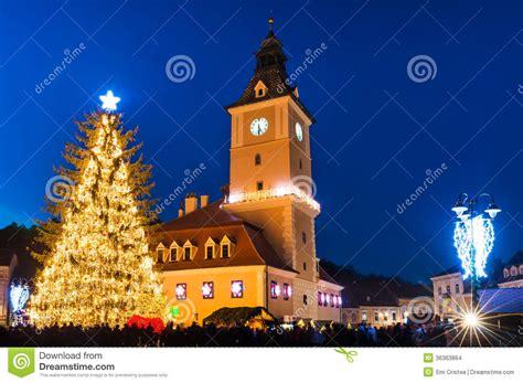 imagenes rumania navidad centro hist 243 rico en d 237 as de la navidad rumania de brasov