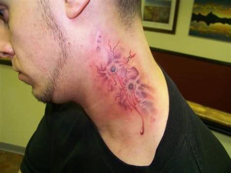 tattoo on neck boy graveyard neck tattoo for boys