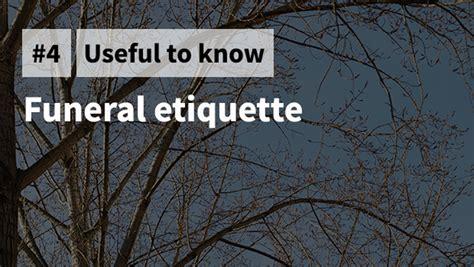 aftering com 187 funeral etiquette