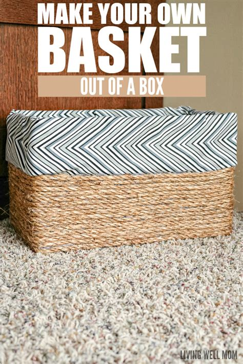 decorative baskets inspiration for using them in your make your own basket out of a box
