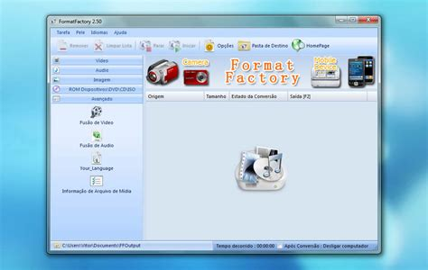 conversor format factory para mac format factory 2 50 um conversor all in one pplware