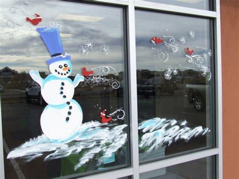Fensterdeko Weihnachten Bilder by Feine Fensterbilder Zu Weihnachten Und Winterzeit