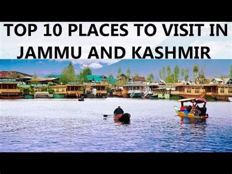 Top 10 Places To Go by Top 10 Places To Visit In Jammu And Kashmir