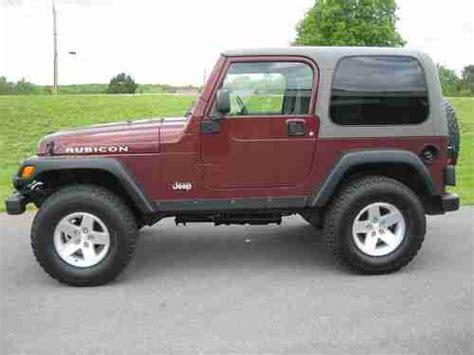 2003 Jeep Wrangler Hardtop Sell Used 2003 Jeep Wrangler Rubicon 4x4 82k Clean 4