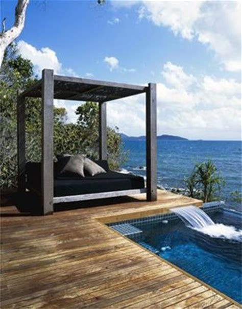 pool beds outdoor canopy day bed by pool outdoor pinterest