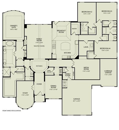 custom built homes floor plans fresh custom floor plans