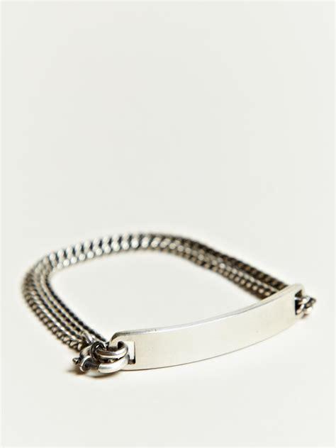 Ln C Kirana Bracelet Silver demeulemeester s silver plate bracelet jewelry