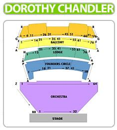 dorothy chandler pavilion seating view dorothy chandler pavilion tickets great seats great