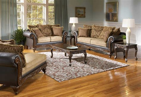 leather and fabric living room sets splurge chocolate sofa and loveseat living room sets