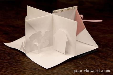 Paper Kawaii Origami Book - popup tutorials and origami on