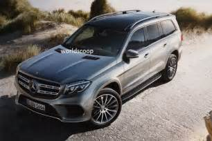 Gls Mercedes Suv 2016 Mercedes Gls Leaked Replaces Gl Class