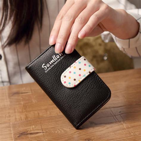 Hls Dompet Kartu Bahan Kulit 20 Slot dompet kartu 20 slot bahan kulit black jakartanotebook