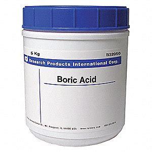 Boric Acid 1kg 1001651000 rpi boric acid 5kg 31fw68 b32050 5000 0 grainger
