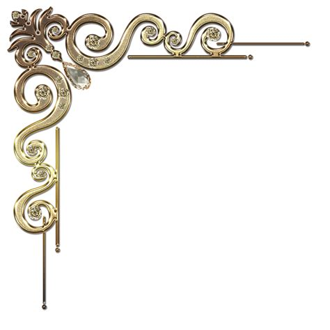 corner design decorative corner designs clipart best