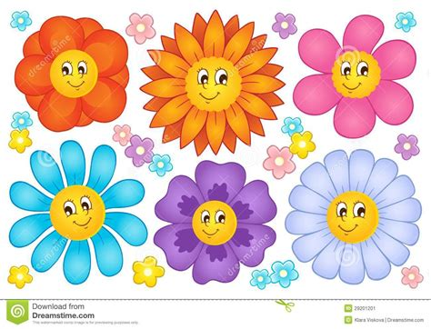 Flower Collection flowers collection stock vector illustration of