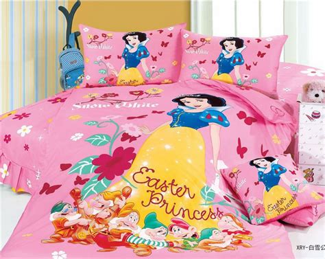 cute twin comforter sets snow white cartoon cute bedding comforter set for kids