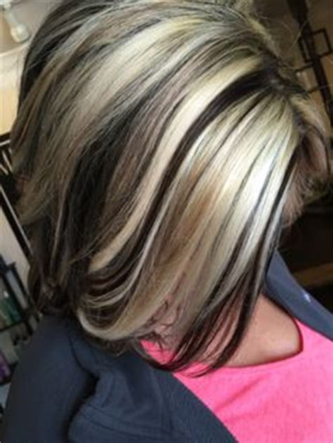 foil hair colors with blondies chocolate and blonde highlights hair colour inspiration