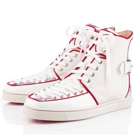 buy louboutin sneakers buy cheap christian louboutin alfie flat leather sneakers