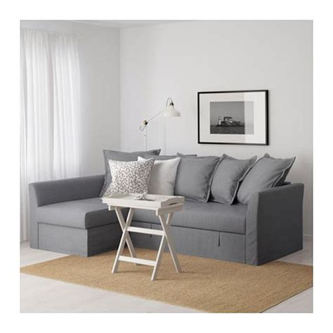 Holmsund Sofa Bed Review Holmsund Sleeper Sectional 3 Seat Nordvalla Medium Gray Grey Small Apartments And Sleeper