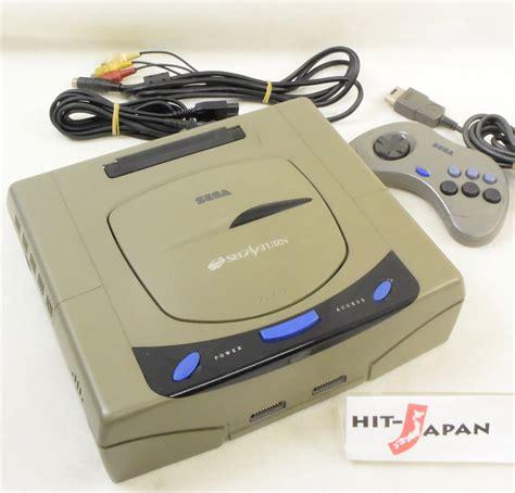 sega saturn japan sega saturn grey console system hst 3200 japan ref