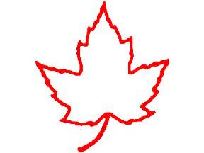 Canada Maple Leaf Outline by Canadian Maple Leaf Clipart Clipart Suggest