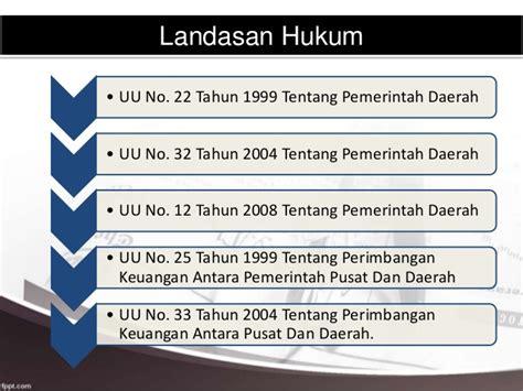 Uu Ri No 32 Dan 33 Tahun 2004 Tentang Otoda 2004 2010 otonomi daerah perekonomian indonesia bab 7