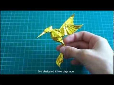 Origami Mockingjay - origami mockingjay from the hunger by